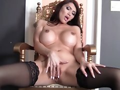 Watch Eva Lin Fucks Her Tranny Pussy with a Bunch of Pleasure Toys