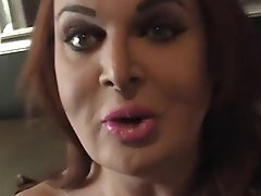 Wendy is Alone in Her Hotel and Jacks Off Her Hard Cock